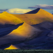 North America, USA, Unted States, West, Colorado, Shfiting dunes in Great Sand Dunes National Park and Preserve, Colorado.