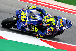 September 7, 2018 - 46 VALENTINO ROSSI from Italy, Movistar Yamaha MotoGP Team, Yamaha YZR-M1 2018, Gran Premio Octo di San Marino e della Riviera di Rimini, during the Friday FP2 at the Marco Simoncelli World Circuit for the 13th round of MotoGP World Championship, from September 7th to 9th, 2018. (Credit Image: © AFP7 via ZUMA Wire)