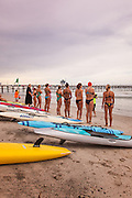 Contestants in the San Clemente Ocean Festival