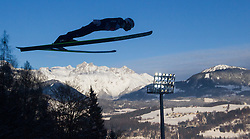 06.01.2015, Paul Ausserleitner Schanze, Bischofshofen, AUT, FIS Ski Sprung Weltcup, 63. Vierschanzentournee, Probedurchgang, im Bild Taku Takeuchi (JPN) // Taku Takeuchi of Japan during Trial Jump of 63rd Four Hills Tournament of FIS Ski Jumping World Cup at the Paul Ausserleitner Schanze, Bischofshofen, Austria on 2015/01/06. EXPA Pictures © 2015, PhotoCredit: EXPA/ JFK
