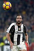 © Filippo Alfero<br /> Juventus-Napoli, Serie A 2016/2017<br /> Torino, 29/10/2016<br /> sport calcio<br /> Nella foto: Gonzalo Higuain Juventus