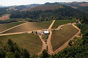 Tour by Devine helicopter tours at Bjornson Winery in Eola Hills Ava, Willamette Valley, Oregon