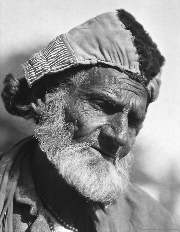 Afridi Type, Peshawar, India, 1929