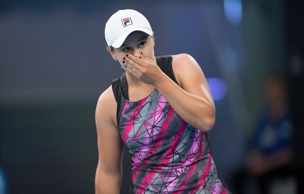 Ashleigh Barty of Australia on day five of the 2017 Australian Open at Melbourne Park on January 20, 2017 in Melbourne, Australia.<br /> (Ben Solomon/Tennis Australia)