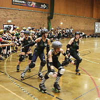 2014-09-27 Manchester Roller Derby Checkerbroads vs Liverpool Roller Girls
