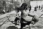 """Saturday April 19th 2008..New York, New York. United States..At """"The Cage"""", the West 4th Street Basketball Court..Greenwich Village. .6th Avenue between West 3rd and West 4th Streets."""