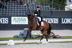 Weinbauer Belinda, AUT, Damons Classic<br /> Longines FEI/WBFSH World Breeding Dressage Championships for Young Horses - Ermelo 2017<br /> © Hippo Foto - Dirk Caremans<br /> 03/08/2017
