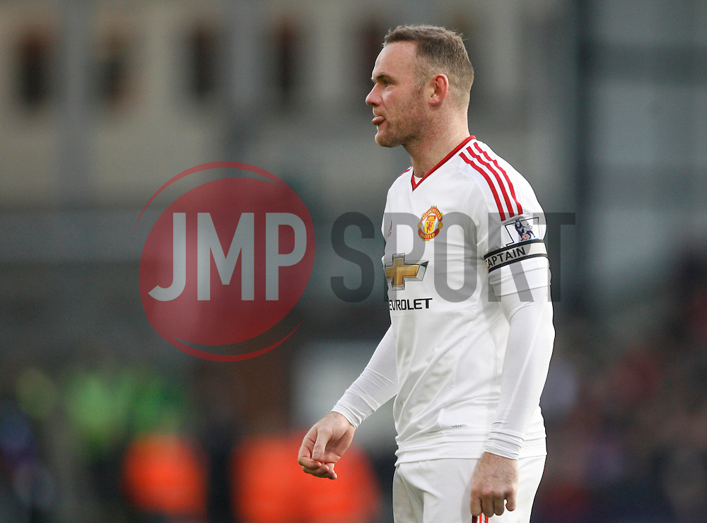 Wayne Rooney of Manchester United  - Mandatory byline: Jack Phillips/JMP - 07966386802 - 31/10/2015 - SPORT - FOOTBALL - London - Selhurst Park Stadium - Crystal Palace v Manchester United - Barclays Premier League
