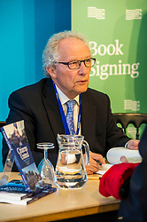 Pictured: Lord McLeish<br /> Book fanatics headed to Charlotte Square in Edinburgh which is the hub of the international Book Festival to meet the authors and also to meet up with fellow fans of the printed word.<br /> <br /> <br /> Ger Harley | EEm 14 August 2017