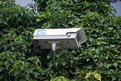 Crime prevention camera in grounds of Secondary School,