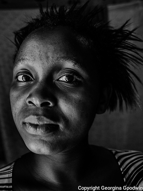 Anne Wangeshi, aged 19. Raped in December 2012 by two men, friends of her boyfriend. She has only shared with 4 friends and her boyfriend but does not have the courage to report to the police. Her father died last year and her mother does not know about the incident. <br />