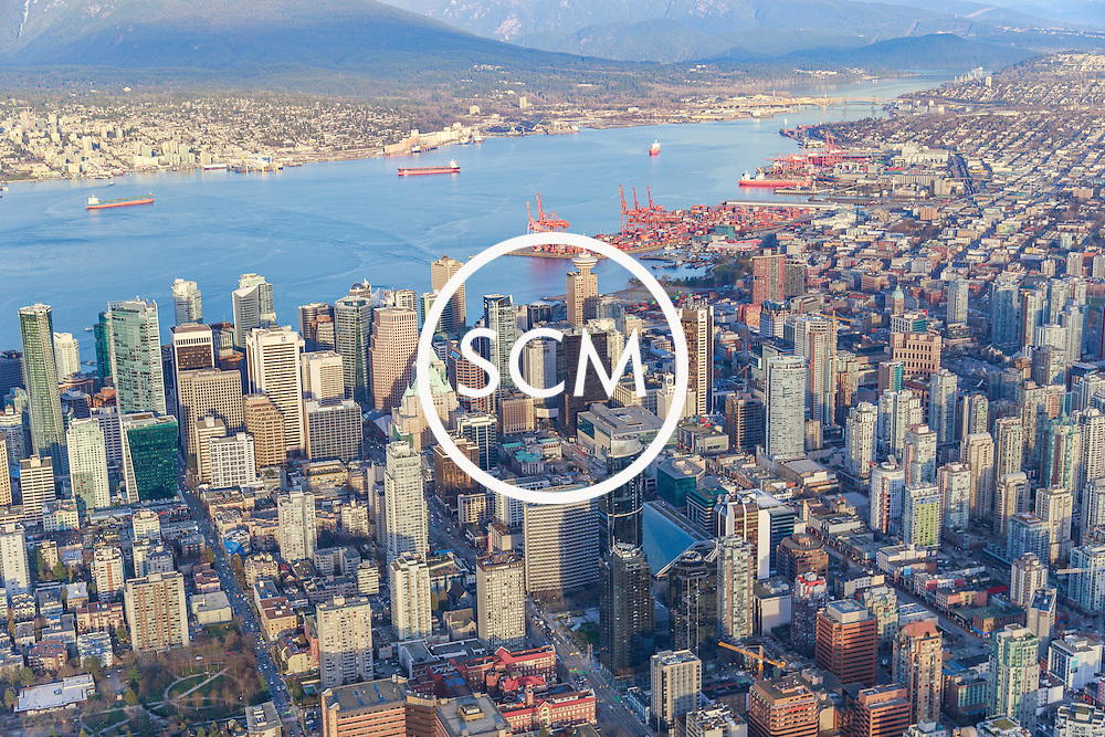 Downtown Vancouver Aerial Photography
