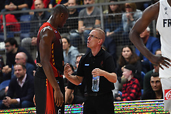 November 24, 2017 - Anvers, Belgique - ANTWERPEN, BELGIUM - NOVEMBER 24 : Kevin TUMBA  of Belgium, Eddy Casteels  of Belgium during the First Round E FIBA World Cup China 2019 Qualifiers match between Belgium and France on November 24, 2017 in Antwerpen, Belgium, 24/11/2017 (Credit Image: © Panoramic via ZUMA Press)
