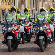 NLD/Rotterdam/20180220 - Herdenkingsdienst Ruud Lubbers, aankomst rouwstoet