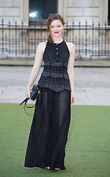 Image ©Licensed to i-Images Picture Agency. 04/06/2014. London, United Kingdom. Royal Academy Summer Exhibition Preview Party. Holliday Grainger arrives to the Summer Exhibition Preview Party at the Royal Academy of Arts. Picture by Daniel Leal-Olivas / i-Images