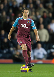 BLACKBURN, ENGLAND - Sunday, December 9, 2007:  West Ham United's Lucas Neill during the Premiership match against Blackburn Rovers at Ewood Park. (Photo by David Rawcliffe/Propaganda)