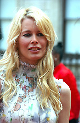 Model CLAUDIA SCHIFFER at the Royal Academy of Art's SUmmer Party following the official opening of the Summer Exhibition held at the Royal Academy of Art, Burlington House, Piccadilly, London W1 on 7th June 2006.<br />