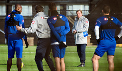 © London News Pictures. 30/11/2012. London, UK. QPR manager Harry Redknapp during training with QPR team  at the QPR training ground in Harlington, Wes London. Photo credit: Ben Cawthra/LNP