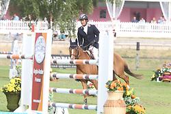 Boudant Francois Xavier - Sultan Des Ibis<br /> 6 Years old horses<br /> Championship Young Horses Fontainebleau 2012<br /> © Hippo Foto - Counet Julien