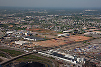 Aerial photo of the old GM plant in Baltimore Maryland now Duke Properties Maryland Port Administration