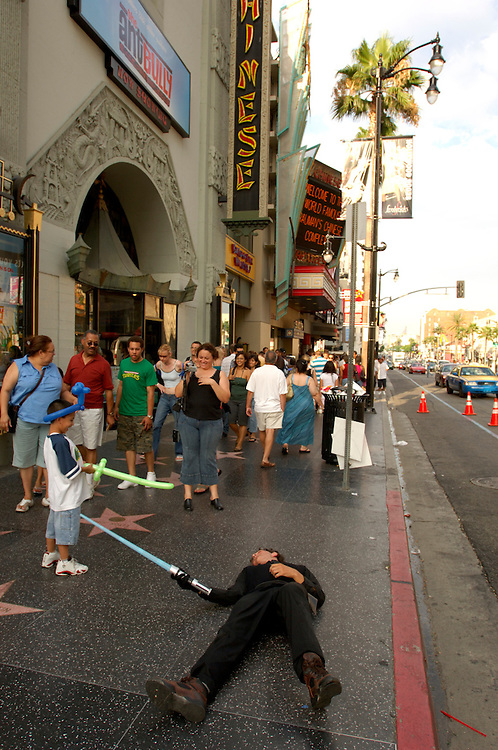 Mann's Chinese Theatre, Graumans Theatre, Hollywood Boulevard, Hollywood, Los Angeles, California, United States of America