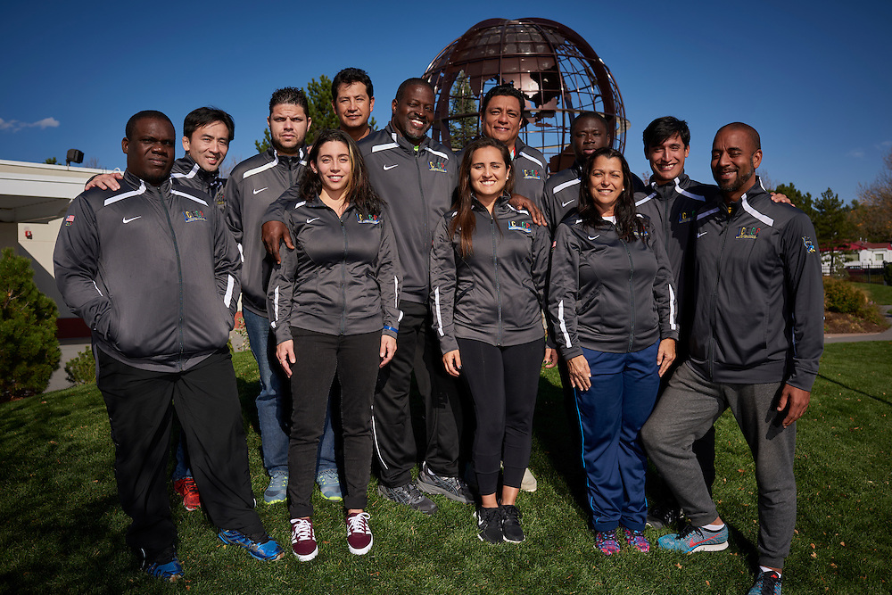 ICECP Workshop photographed on site at the United States Olympic Training Center, Colorado Springs, CO. 2016 October 18