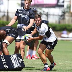 DURBAN, SOUTH AFRICA, Friday 15, January 2016 - Stefan Ungerer during The Cell C Sharks Pre Season training Friday 145h January 2016,for the 2016 Super Rugby Season at Growthpoint Kings Park in Durban, South Africa. (Photo by Steve Haag)<br /> images for social media must have consent from Steve Haag