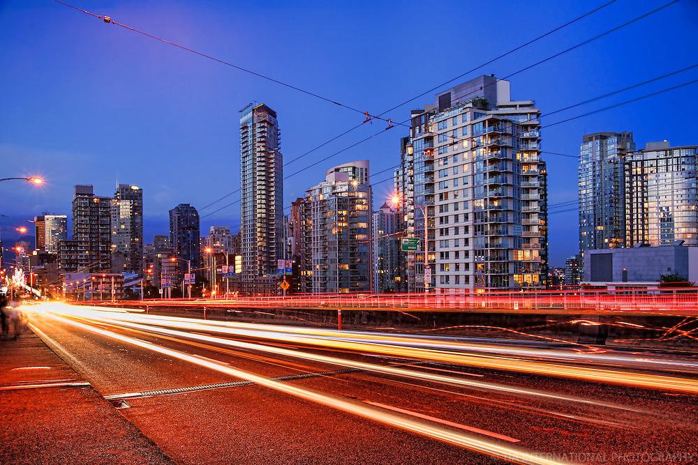 Granville Bridge & Downtown Vancouver