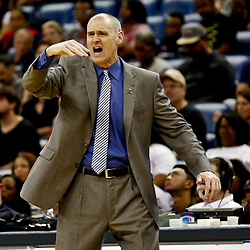 Dec 26, 2016; New Orleans, LA, USA;  Dallas Mavericks head coach Rick Carlisle against the New Orleans Pelicans during the second quarter of a game at the Smoothie King Center. Mandatory Credit: Derick E. Hingle-USA TODAY Sports