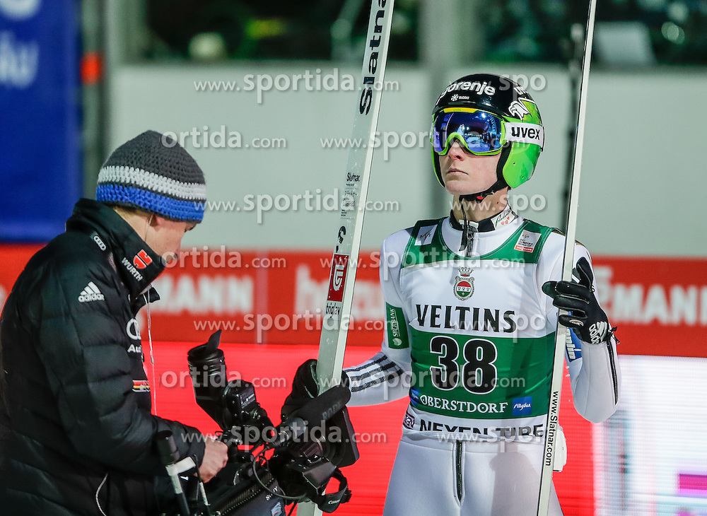 04.02.2017, Heini Klopfer Skiflugschanze, Oberstdorf, GER, FIS Weltcup Ski Sprung, Oberstdorf, Skifliegen, im Bild Domen Prevc (SOL) // Domen Prevc of Slovenia during mens FIS Ski Flying World Cup at the Heini Klopfer Skiflugschanze in Oberstdorf, Germany on 2017/02/04. EXPA Pictures © 2017, PhotoCredit: EXPA/ Peter Rinderer