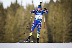 Simon Desthieux (FRA) during Men 10 km Sprint of the IBU Biathlon World Cup Pokljuka on Thursday, December 16, 2015 in Pokljuka, Slovenia. Photo by Ziga Zupan / Sportida