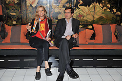 LEOPOLDO & JESSICA ZAMBELETTI at a party to celebrate the publication of Ghosts by Daylight by Janine Di Giovanni held at Blakes Hotel, London on 12th July 2011.