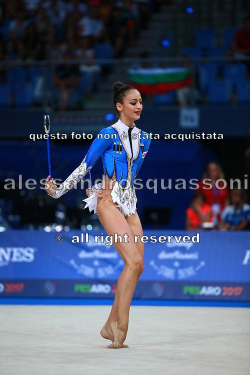 Elina Valieva is a gymnast of Georgia was born in Russia 2000.