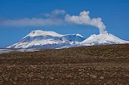 South America; Peru; Sabancaya; Chivay; volcano;