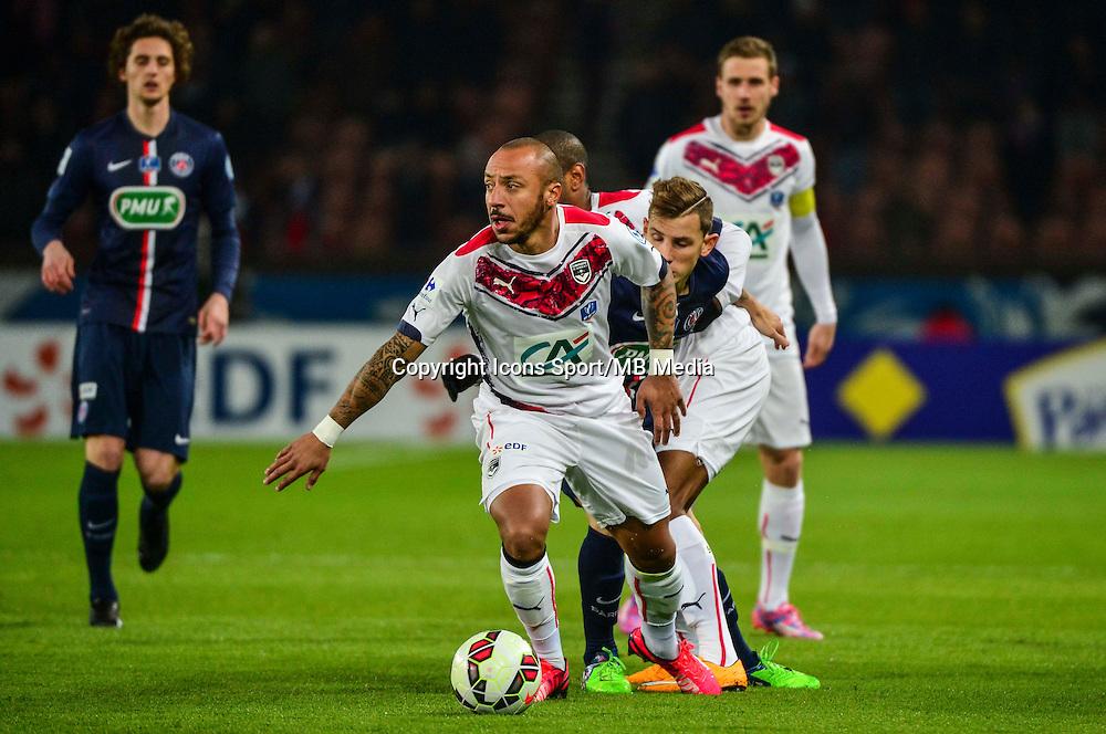 Julien FAUBERT - 21.01.2015 - Paris Saint Germain / Bordeaux - Coupe de France<br /> Photo : Dave Winter / Icon Sport