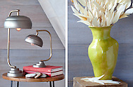 Lamp and Vase interior decorating accessories