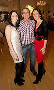 Trish and Siobhan Daly with their Father Paddy Daly at the launch of the  hopefully Xmas number 1 single Tiny Dancer by a host of Irish singers ( Mary Black, Paddy Casey, John Spillane to mention just a few) and AIMS members at Hotel Meyrick in aid of the Lily Mae Trust. Picture:Andrew Downes..Photo issued with compliments, no reproduction fee.