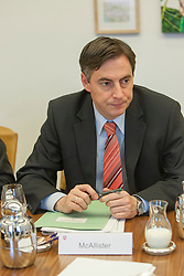 The half-Scottish Prime Minister David McAllister of Lower Saxony, at today's cabinet meeting..©Michael Schofield.