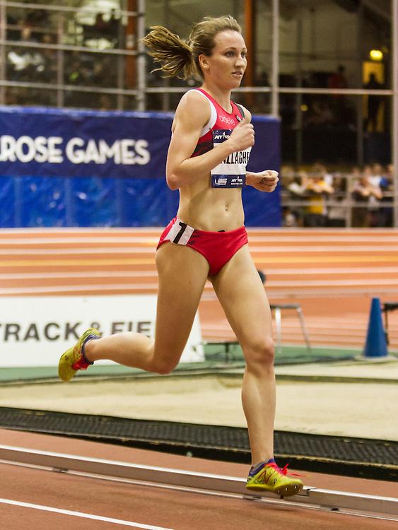 The 108th Millrose Games Track & Field: Women's 3,000m Run, Kerri Gallagher, Oiselle