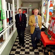 Leden van de Huizer gemeenteraad bezoeken de van den Brugghenschool, Wim Vrieze