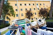 Roma, 21/04/2016: Sezione donne con prole della casa circondariale di Rebibbia - Women department, Rebibbia detention center.<br /> &copy;Andrea Sabbadini