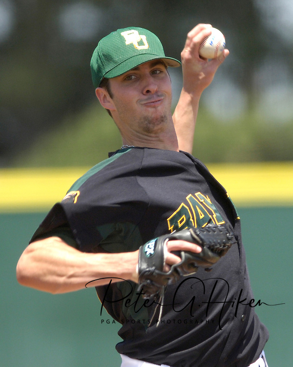 Baylor starting pitcher Cory VanAllen pitched six innings, giving up three runs on six hits and took the loss against Kansas State.  K-State defeated the Baylor Bears 3-1 at Tointon Stadium in Manhattan, Kansas, May 20, 2006.