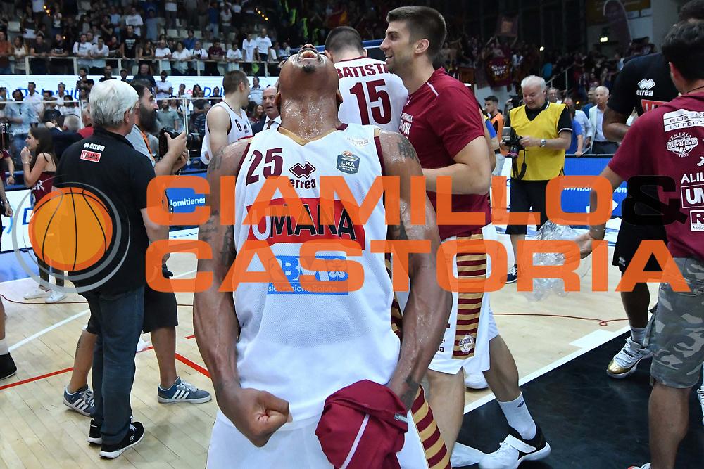 Tyrus Mcgee<br /> Dolomiti Energia Trento - Umana Reyer Venezia<br /> Lega Basket Serie A 2016-2017<br /> Playoff FINALE Gara 6<br /> Avellino 20/06/2017<br /> Foto Ciamillo-Castoria