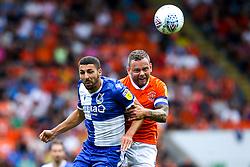 Liam Sercombe of Bristol Rovers challenges Jay Spearing of Blackpool - Mandatory by-line: Robbie Stephenson/JMP - 03/08/2019 - FOOTBALL - Bloomfield Road - Blackpool, England - Blackpool v Bristol Rovers - Sky Bet League One