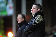 Millwall boss Neil Harris during the Sky Bet League 1 match between Walsall and Millwall at the Banks's Stadium, Walsall, England on 6 February 2016. Photo by Mike Sheridan.
