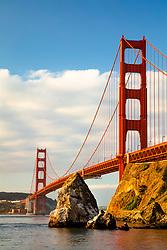 """Golden Gate Bridge 7"" - Photograph of San Francisco's famous Golden Gate Bridge shot in the early morning."
