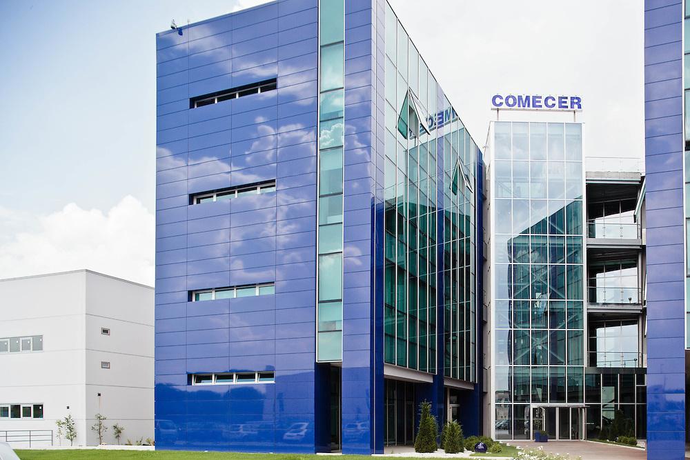 14 JUN 2011 - Castel Bolgonese (Ravenna) -Comecer: tecnologie per la Medicina Nucleare - Sede :-: Castel Bolognese (Italy) - Comecer: Nuclear Medicine Technology - Headquarters