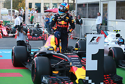 June 25, 2017 - Baku, Azerbaijan - Motorsports: FIA Formula One World Championship 2017, Grand Prix of Europe, .#3 Daniel Ricciardo (AUS, Red Bull Racing) (Credit Image: © Hoch Zwei via ZUMA Wire)