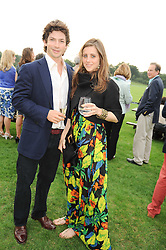 SAM WALEY-COHEN and BELLA BALLIN at the 4th Jaeger-LeCoultre Polo Cup in aid of the James Wentworth-Stanly Memorial Fund held at Coworth Park, Ascot, Berkshire on 10th September 2010.