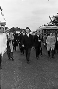 PresidentJohn F.  Kennedy attends a Garden Party at Aras an Uachtarain..27.06.1963